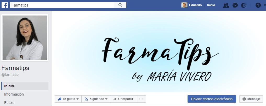 paginas de facebook de farmacia