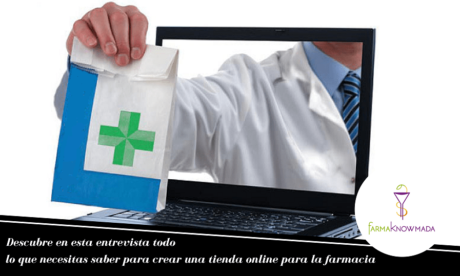 crear tienda online farmacia