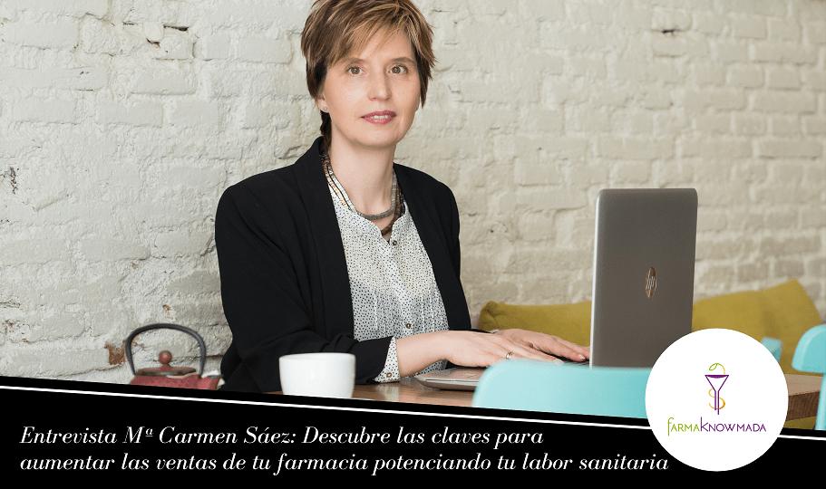 Mª Carmen Sáez entrevista